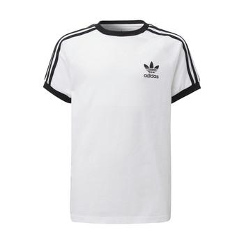 Oblečenie Deti Tričká s krátkym rukávom adidas Originals DV2901 Biela