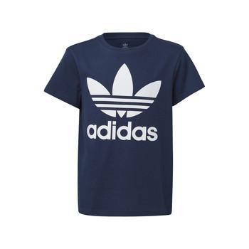 Oblečenie Deti Tričká s krátkym rukávom adidas Originals GD2679 Modrá