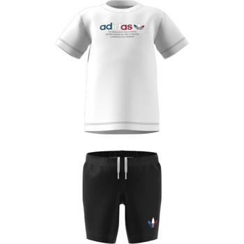 Oblečenie Deti Komplety a súpravy adidas Originals GN7413 Biela