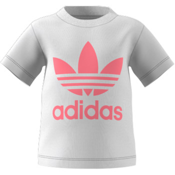 Oblečenie Deti Tričká s krátkym rukávom adidas Originals GN8175 Biela