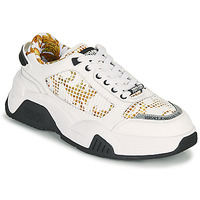 Topánky Muži Nízke tenisky Versace Jeans Couture HATINA Biela / Zlatá