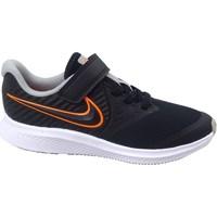 Topánky Deti Fitness Nike Star Runner 2 Čierna