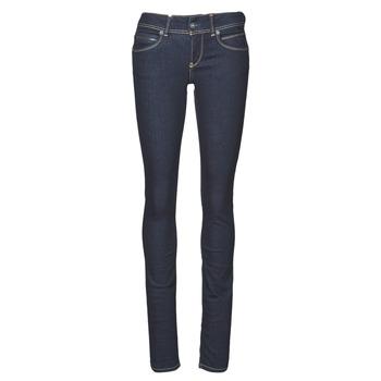 Oblečenie Ženy Rifle Slim  Pepe jeans NEW BROOKE Modrá / M15