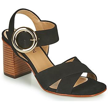 Topánky Dievčatá Sandále JB Martin 1NICKY Čierna