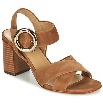 Topánky Dievčatá Sandále JB Martin 1NICKY Hnedá