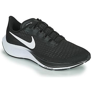 Topánky Muži Bežecká a trailová obuv Nike AIR ZOOM PEGASUS 37 Čierna / Biela