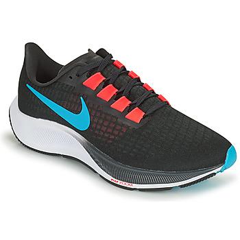 Topánky Muži Bežecká a trailová obuv Nike AIR ZOOM PEGASUS 37 Čierna / Červená / Modrá
