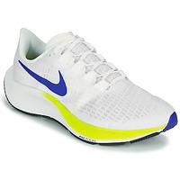 Topánky Muži Bežecká a trailová obuv Nike AIR ZOOM PEGASUS 37 Biela / Modrá / Žltá