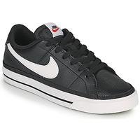 Topánky Ženy Nízke tenisky Nike COURT LEGACY Čierna / Biela