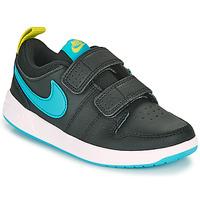 Topánky Chlapci Nízke tenisky Nike PICO 5 PS Čierna / Modrá
