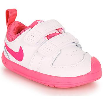 Topánky Dievčatá Nízke tenisky Nike PICO 5 TD Biela / Ružová