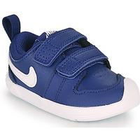 Topánky Chlapci Nízke tenisky Nike PICO 5 TD Modrá / Biela