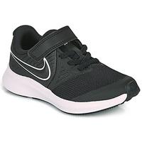 Topánky Deti Univerzálna športová obuv Nike STAR RUNNER 2 PS Čierna / Biela