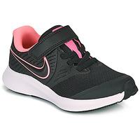 Topánky Dievčatá Univerzálna športová obuv Nike STAR RUNNER 2 PS Čierna / Ružová