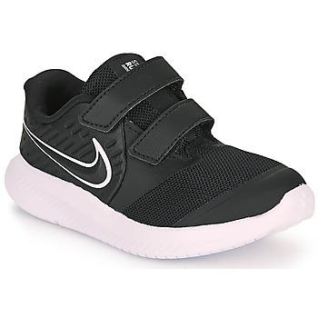 Topánky Deti Univerzálna športová obuv Nike STAR RUNNER 2 TD Čierna / Biela