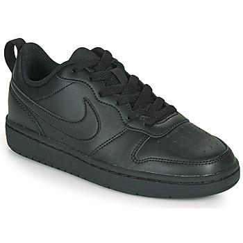 Topánky Deti Nízke tenisky Nike COURT BOROUGH LOW 2 GS Čierna