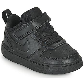 Topánky Deti Nízke tenisky Nike COURT BOROUGH LOW 2 TD Čierna