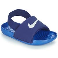 Topánky Chlapci športové šľapky Nike NIKE KAWA TD Modrá