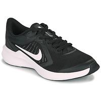 Topánky Deti Univerzálna športová obuv Nike DOWNSHIFTER 10 GS Čierna / Biela