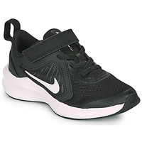 Topánky Deti Univerzálna športová obuv Nike DOWNSHIFTER 10 PS Čierna / Biela