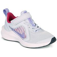 Topánky Dievčatá Univerzálna športová obuv Nike DOWNSHIFTER 10 PS Modrá / Fialová