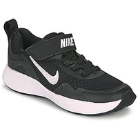 Topánky Deti Univerzálna športová obuv Nike WEARALLDAY PS Čierna / Biela