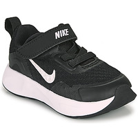 Topánky Deti Univerzálna športová obuv Nike WEARALLDAY TD Čierna / Biela