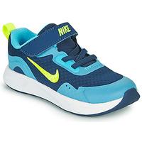 Topánky Chlapci Univerzálna športová obuv Nike WEARALLDAY TD Modrá / Zelená