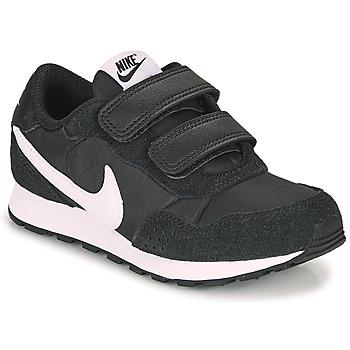 Topánky Deti Nízke tenisky Nike MD VALIANT PS Čierna / Biela