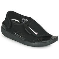 Topánky Deti športové šľapky Nike SUNRAY ADJUST 5 V2 PS Čierna