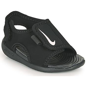Topánky Deti športové šľapky Nike SUNRAY ADJUST 5 V2 TD Čierna