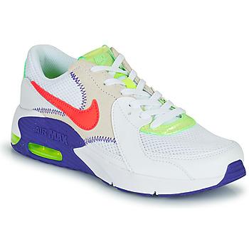 Topánky Deti Nízke tenisky Nike AIR MAX EXCEE AMD GS Biela / Modrá / Červená