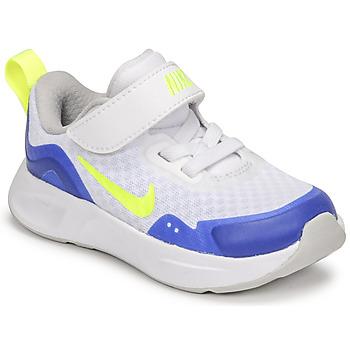 Topánky Deti Univerzálna športová obuv Nike NIKE WEARALLDAY Biela / Modrá / Zelená