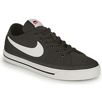 Topánky Muži Nízke tenisky Nike NIKE COURT LEGACY CANVAS Čierna / Biela