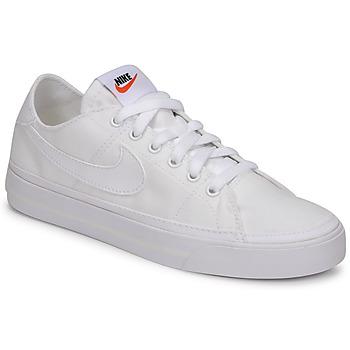 Topánky Ženy Nízke tenisky Nike NIKE COURT LEGACY CANVAS Biela