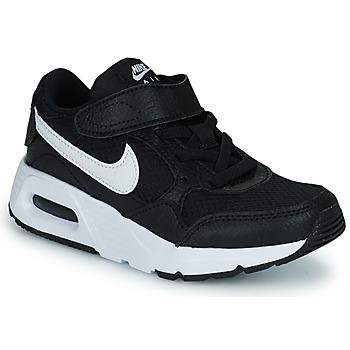 Topánky Deti Nízke tenisky Nike NIKE AIR MAX SC (PSV) Čierna / Biela