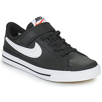 Topánky Deti Nízke tenisky Nike NIKE COURT LEGACY Čierna / Biela