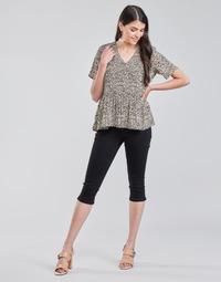 Oblečenie Ženy Nohavice 7/8 a 3/4 Vero Moda VMHOT SEVEN Čierna