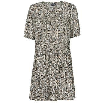 Oblečenie Ženy Krátke šaty Vero Moda VMELIN Béžová