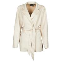 Oblečenie Ženy Kabátiky Trenchcoat Vero Moda VMNAPOLI Béžová