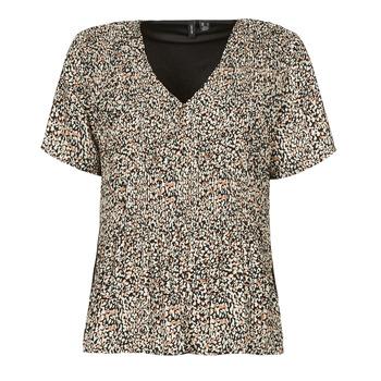 Oblečenie Ženy Blúzky Vero Moda VMELIN Béžová