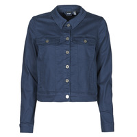 Oblečenie Ženy Džínsové bundy Vero Moda VMHOTSOYA Námornícka modrá