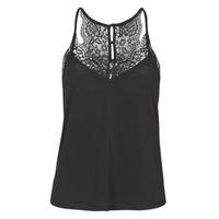 Oblečenie Ženy Tielka a tričká bez rukávov Vero Moda VMANA Čierna