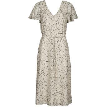Oblečenie Ženy Krátke šaty Vero Moda VMJOT Béžová