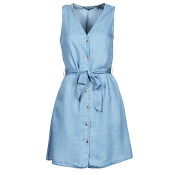 Oblečenie Ženy Krátke šaty Vero Moda VMVIVIANA Modrá