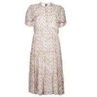 Oblečenie Ženy Dlhé šaty Vero Moda VMKATHRINE Béžová