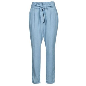 Oblečenie Ženy Nohavice Chinos a Carrot Vero Moda VMVIVIANAEVA Modrá