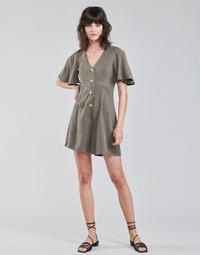 Oblečenie Ženy Módne overaly Vero Moda VMVIVIANA Kaki