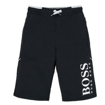 Oblečenie Chlapci Šortky a bermudy BOSS KIMOLI Čierna