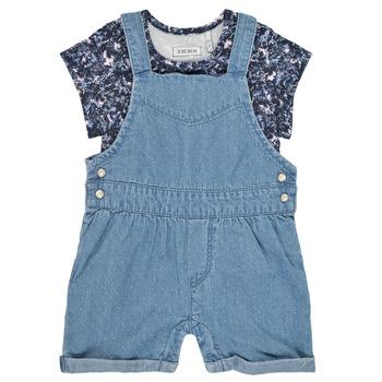 Oblečenie Dievčatá Módne overaly Ikks XS37010-84 Modrá